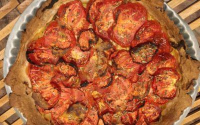 La célébrissime tarte à la tomate