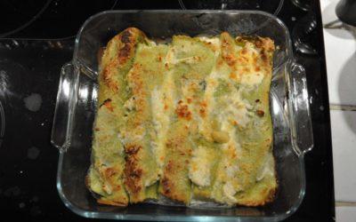 Cannelloni frais à la ricotta et épinards
